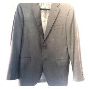 Canali men's navy blue blazer.